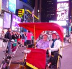 the pedicab that cost more than the flight from SF to NY