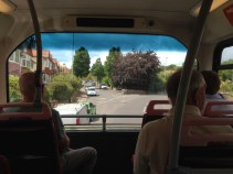 Double decker front row seat