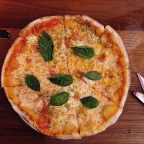 Wee's pizza at La Cucina in Chiang Mai