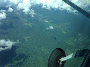 Kan Air flight to Pai