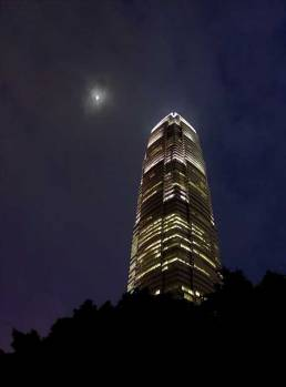 Hong Kong moon