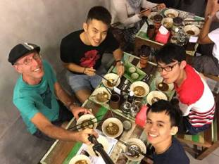 Back with Chuan and his friends. Another disappointing meal with sweet guys.