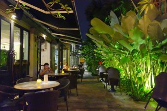 A nice dinner out in Penang.