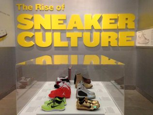 Fantastic exhibit of kicks at the Brooklyn Museum