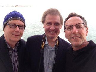 David, James and me