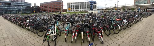 More bikes than people.