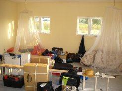 Living in the pile of debris
