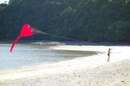 Hao Yen and his adorable heart kite. Don't you love a guy who flaunts love?