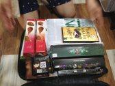 The haul of chocolates.