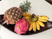 Goodbye to cheap pineapple and dragon fruit.