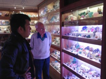 Jack's mineral collection