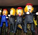 Donald Trump piñatas in the Mission. Strangely, they look a bit like Hillary too.