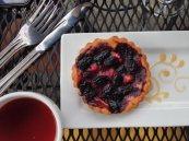 Marionberry tart at Petite Provence.