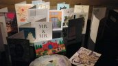 the wedding cards