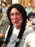 White Trash Dorothy at chorus rehearsal