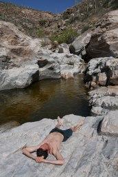 Shreevie at Redington Canyon