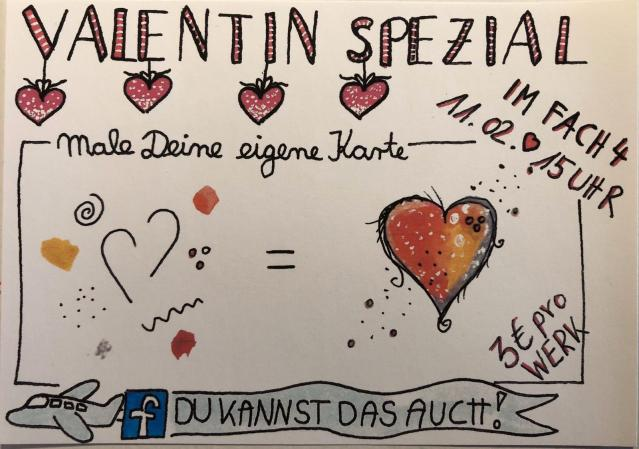 WoRkShOp zum Valentinstag: Malspaß
