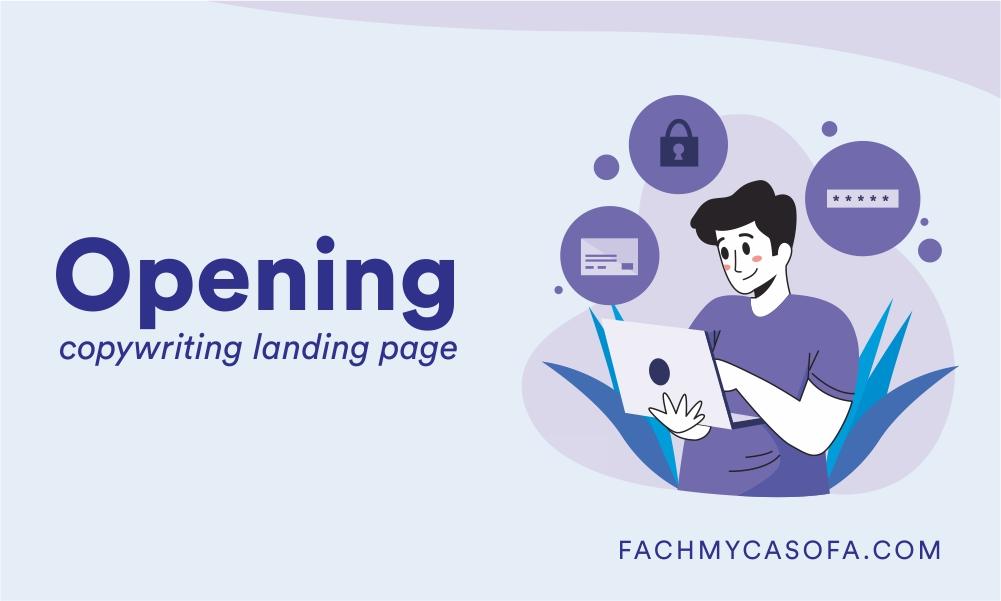 opening landing page copywriting