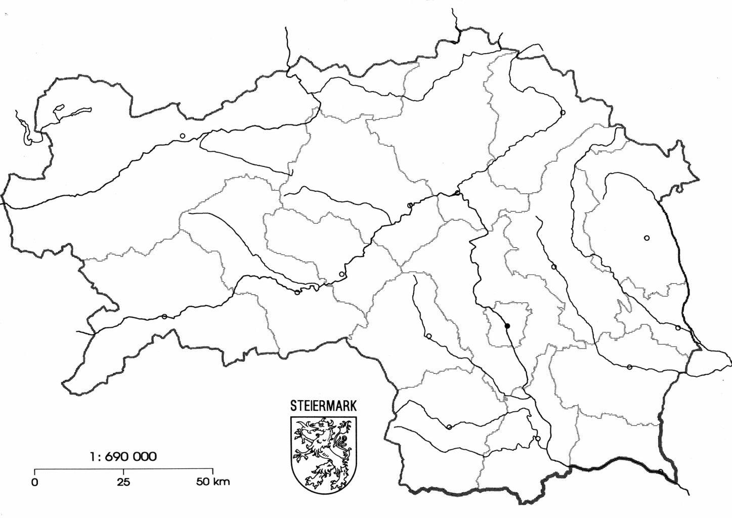 Digitaler Atlas Steiermark Karte
