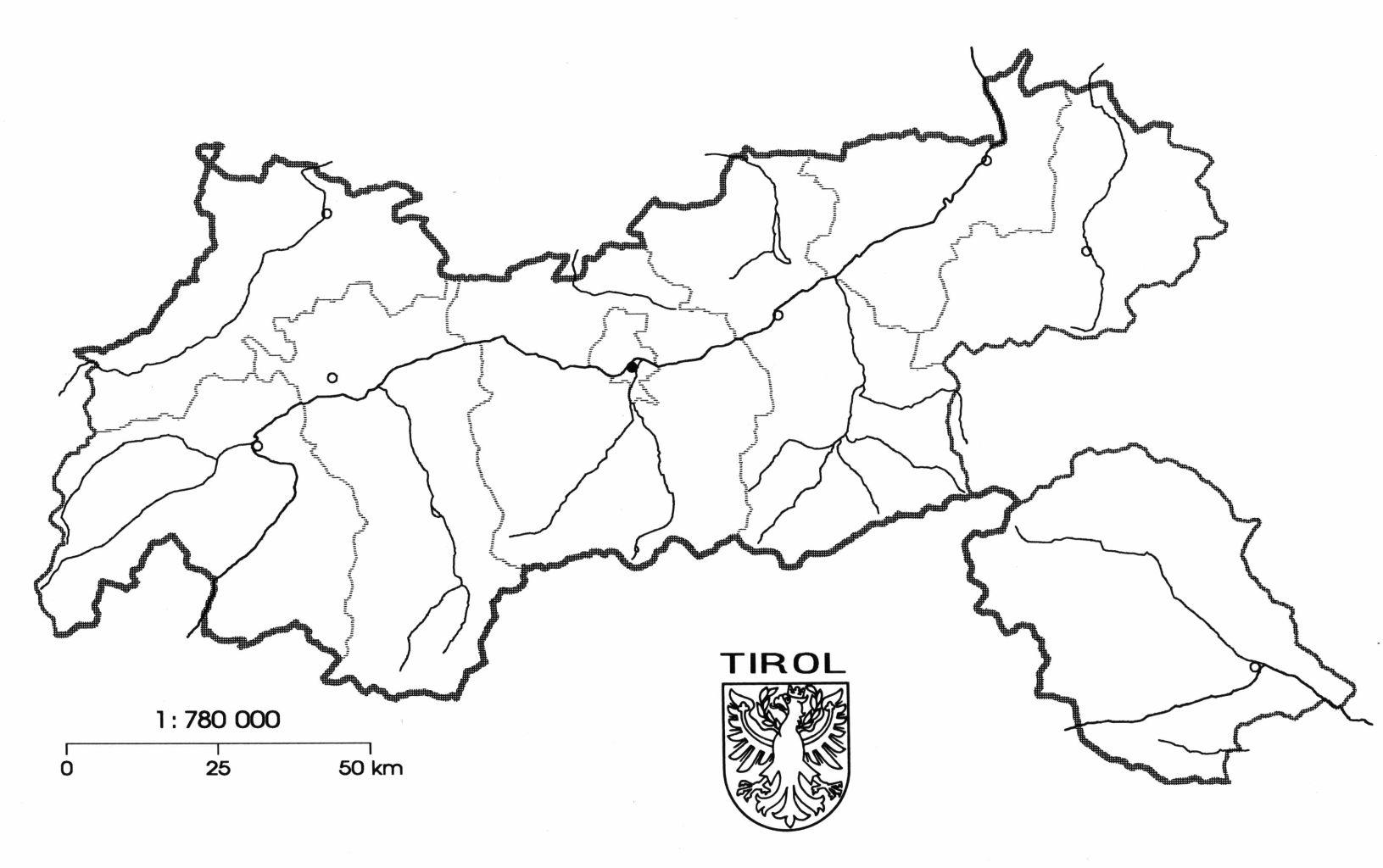 Tirol Karte Osterreich