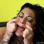 Facial Abuse Audrianna Angel
