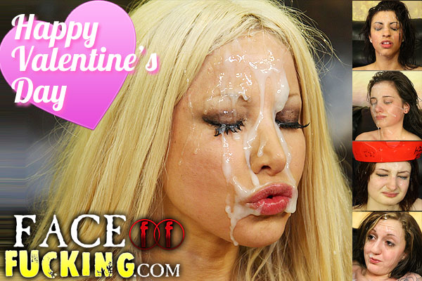 Happy Valentine's Day from FaceFucking.com