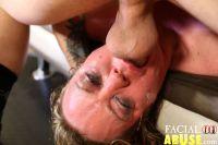 Facial Abuse Mallory Taylor