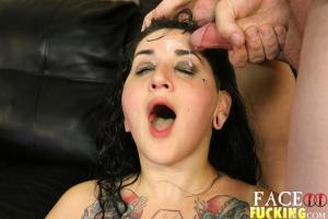 Face Fucking Camille Black 2