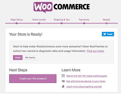 Woocommerce widget setting
