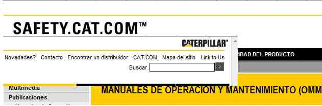 Manuales de operacion y mantenimiento de maquinaria pesada MARCA CATERPILLAR (2/2)