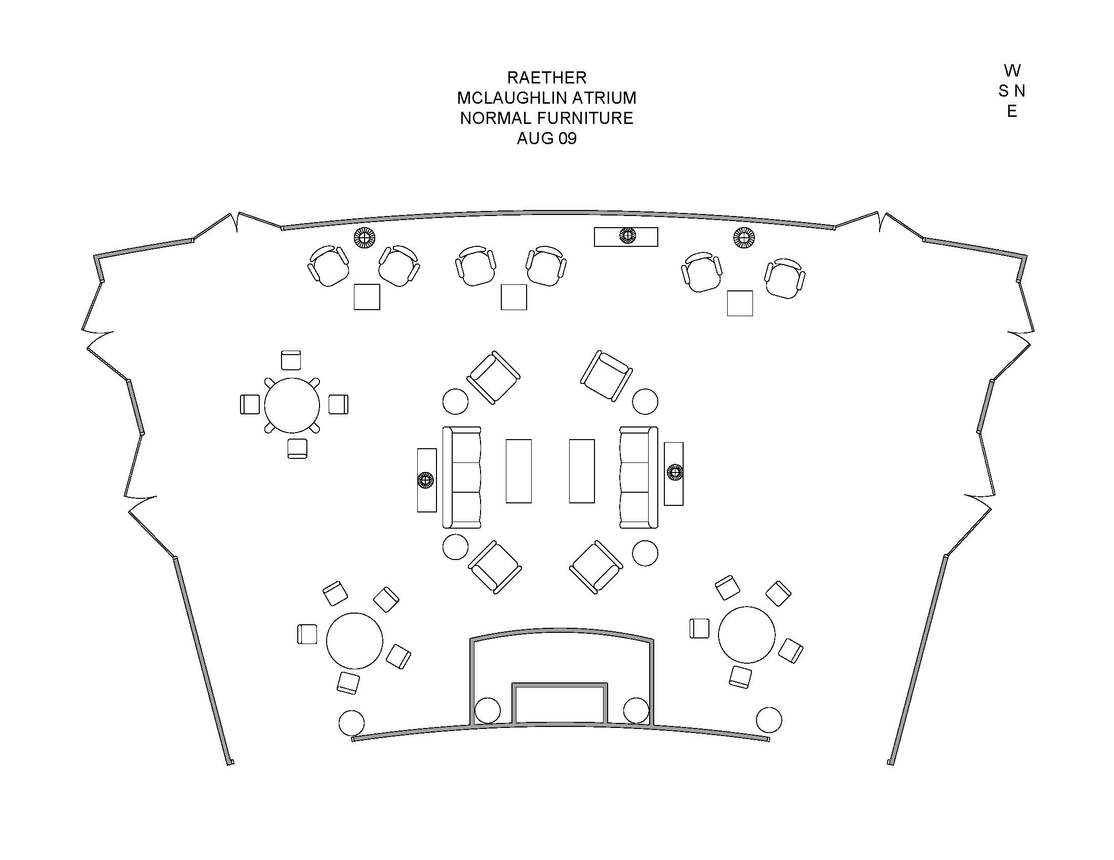 Tuck Events Amp Facilities Raether Mclaughlin Atrium Diagrams