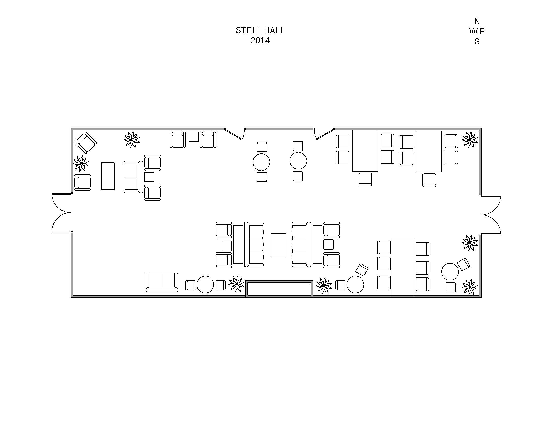 Tuck Events Amp Facilities Stell Hall Diagrams