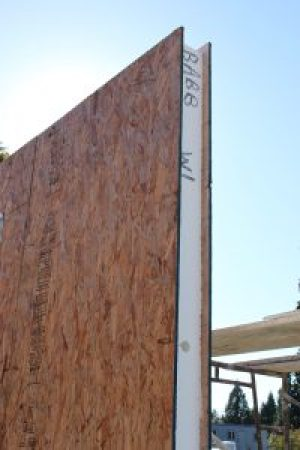 Building Envelopes from Structural insulated panel frame fast and reduce labor significantly.