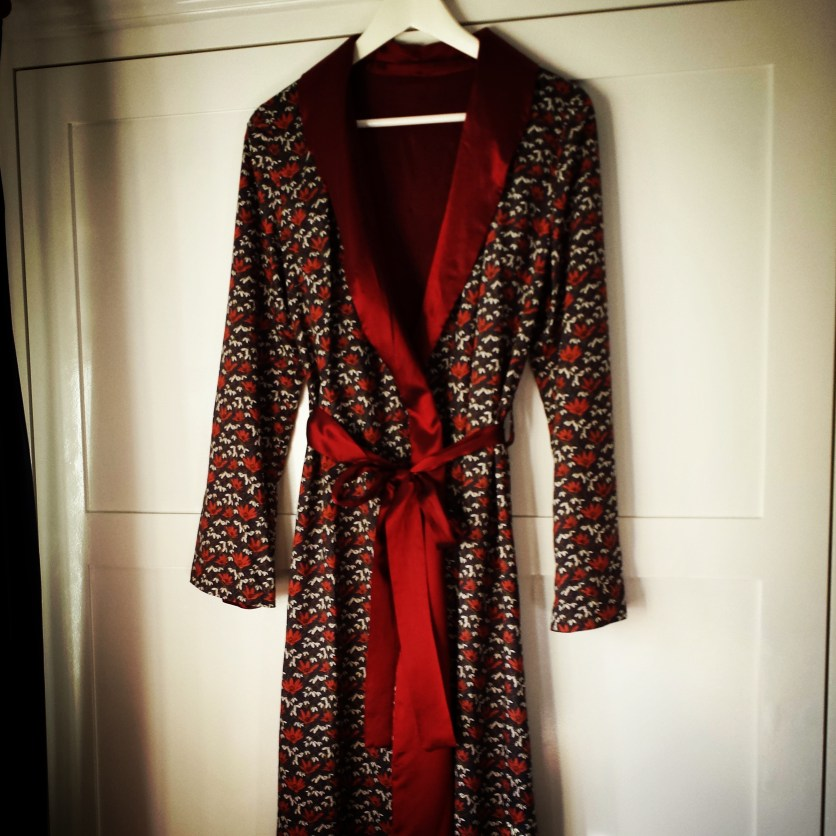 Liberty Martina dressing gown robe