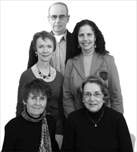 Photo of the 2009 recipients of the NISOD Excellence Awards.