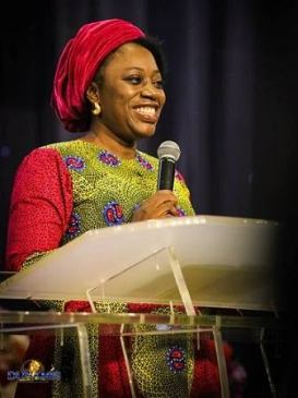 Becky Paul-Enenche smiling