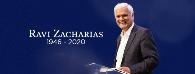 Ravi Zacharias dead
