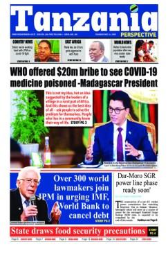 WHO Madagascar bribe