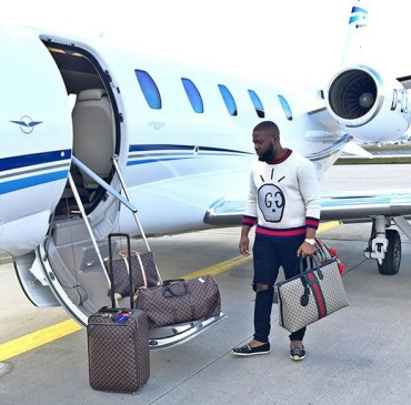 Hushpuppi Private Jet