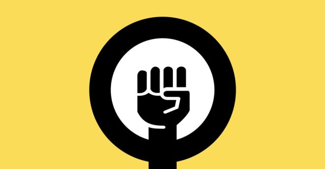 Logo of the feminist Coalition