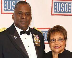 Lloyd Austin and wife Charlene