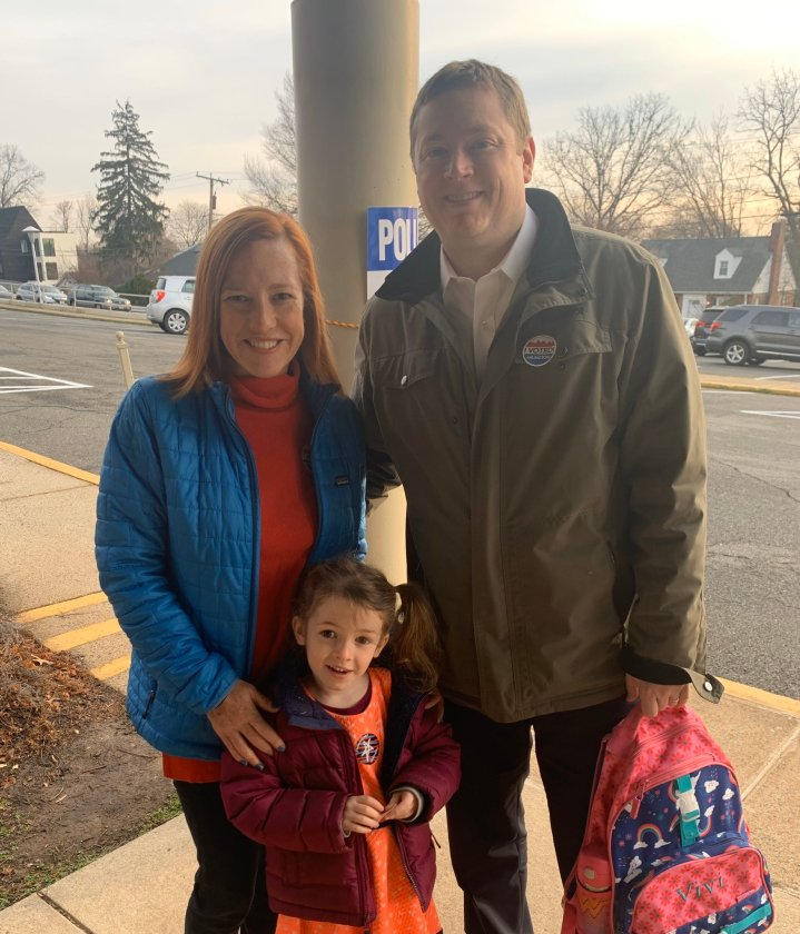 Jen Psaki and Husband