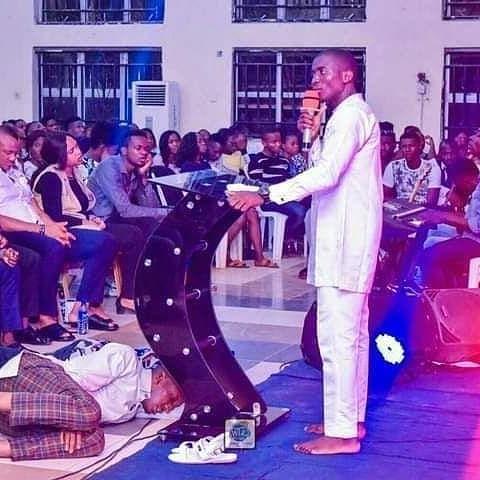 Theophilus Sunday ministering