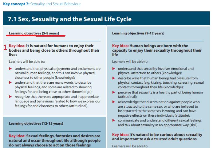 Руководство ООН по половому воспитанию