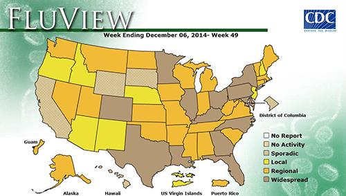 Flu Week 49