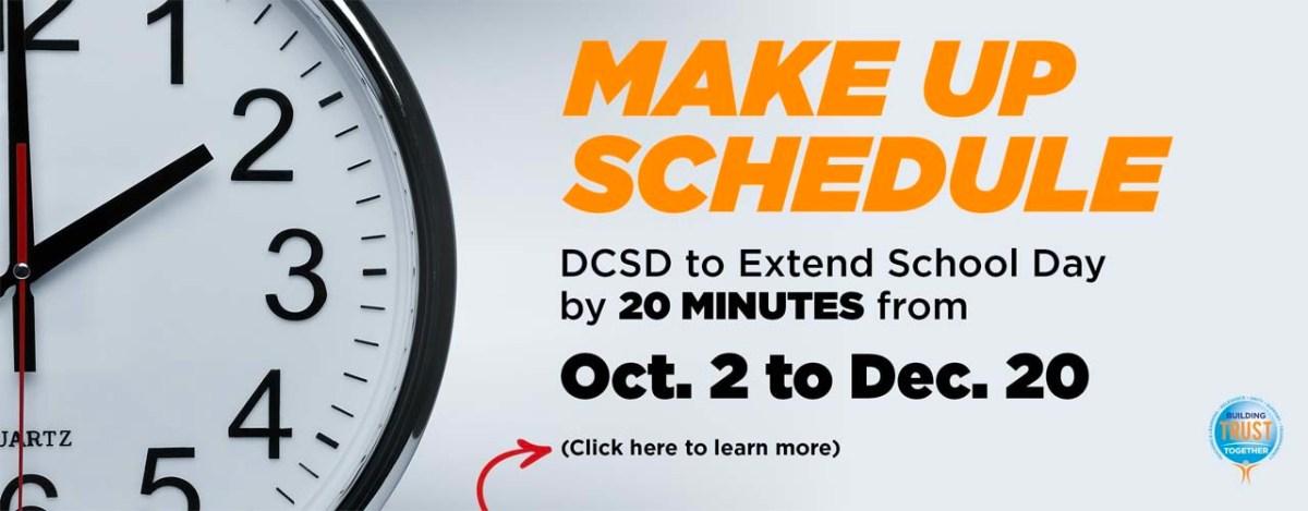 Make-Up Schedule - DeKalb Schools