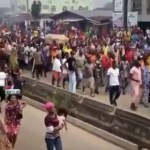 Old video from EndSARS protest resurfaces online amid June 12 protest
