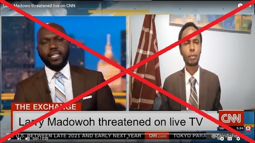 No! Kenyan government official did not threaten CNN's Larry Madowo on live TV