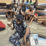 Photo does NOT show Deputy Commissioner of Police arrested for kidnapping in Kaduna