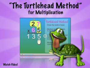 Multiplication Video The Turtlehead Method Factivation